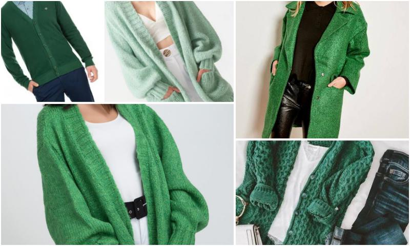 Yeşil Hırka Altına Ne Giyilir