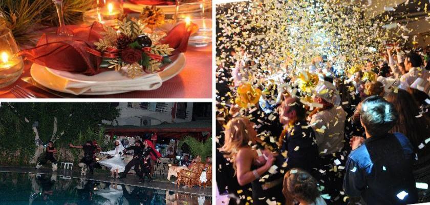 Beş Yıldızlı Oteller Muhteşem Yeni Yıl Partisi İçin Hazırlıklara Başladı