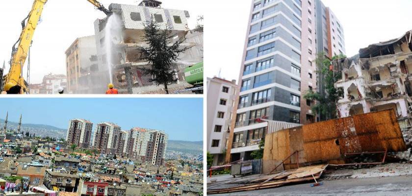 Kentsel Dönüşüm ve Şehirleşme İnşaat Sektöründeki Rekabeti Artırıyor