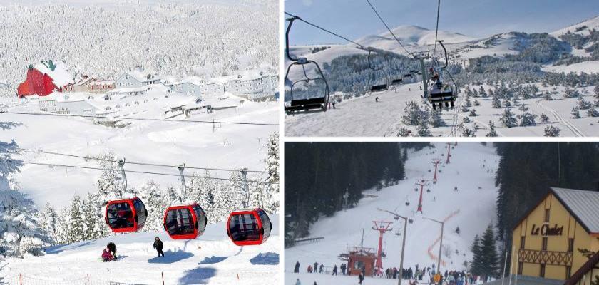 Türkiye'de Kış Turizminin En Çok Geliştiği Yerler