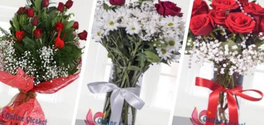 Kutlamalara Sizden Önce Giden Çiçekleriniz Bir Tık Uzakta