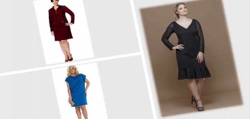Kışlık Ekose Elbise Modelleri