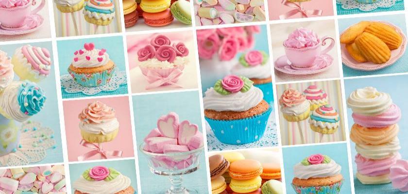 Mutfağınızın Havasını Cupcake Tablolar ile Değiştirin